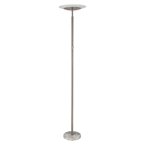 Target Floor Ls Threshold by Torchiere Led Floor L Nickel Threshold Ebay