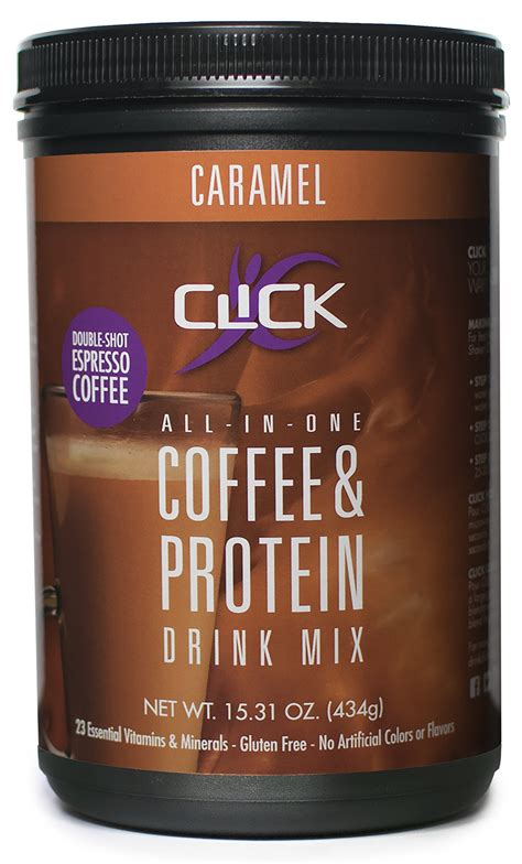 Amazon.com: CLICK Coffee Protein | Protein & Real Coffee