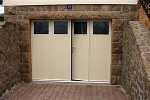 porte de garage battante komilfo dijon With porte de garage enroulable avec porte intérieure isolante thermique prix