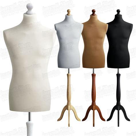 mannequin de vitrine mannequin homme buste de couture masculin deco vetement vitrine size 48 50 eu s4 ebay
