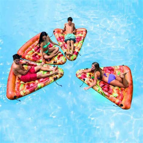 Intex Matelas Piscine by Intex 58752 Matelas Gonflable Pizza