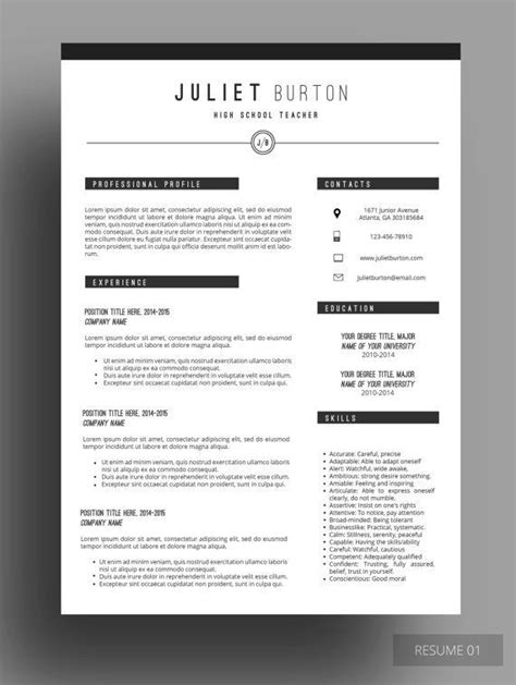 best 20 simple cv template ideas on simple cv