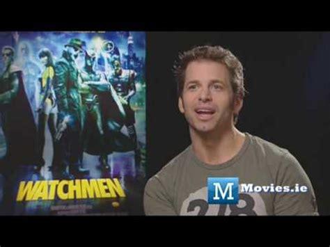 watchmen  interview  director zack snyder youtube