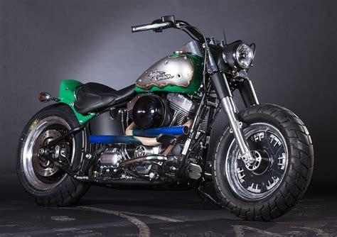 Harley-davidson And Marvel Create Super Hero Customs