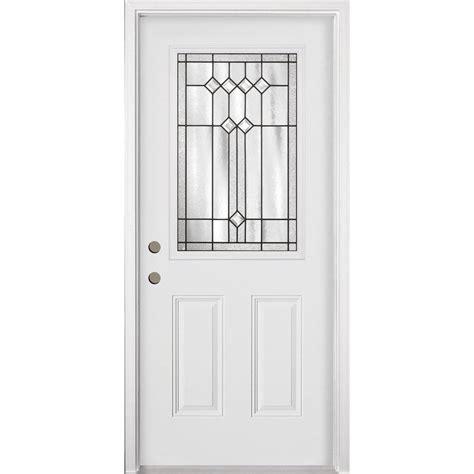 steel door lowes tru tech inswing steel entry door lowe s canada