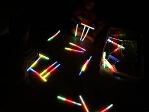 glow stick letters for halloween healthy mama info With glow stick letters
