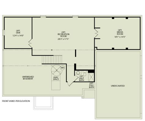 Drees Floor Plans by Princeton 103 Drees Homes Interactive Floor Plans