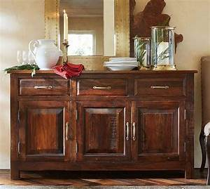 bowry reclaimed wood buffet in brown With what kind of paint to use on kitchen cabinets for three piece wall art sets