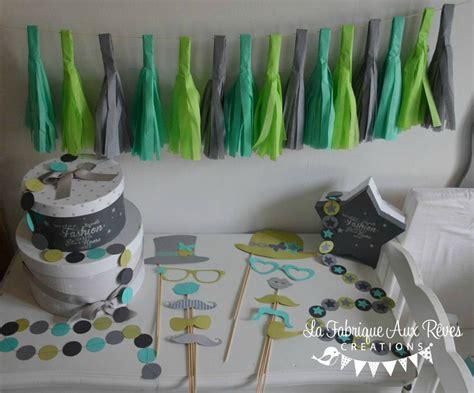 chambre bebe gris bleu décoration baptême fête anniversaire turquoise caraïbe