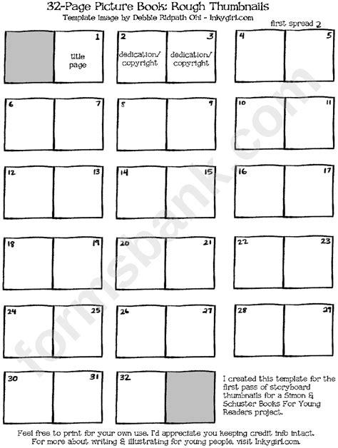 32 Page Picture Book Template  Rough Thumbnails Printable. Microsoft Access Template 2010. House For Sale Flyer. Cross Country Posters. Good Invoice Template For Lawn Services. Blank Toddler Lesson Plan Template. Free Printable Newsletter Templates. Resume Templates For Highschool Graduates. University Of Illinois Graduate School
