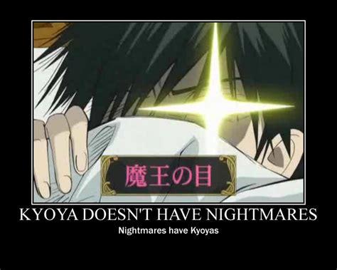 Ouran Highschool Host Club Memes - kyoya motivational poster by silverstar16 on deviantart