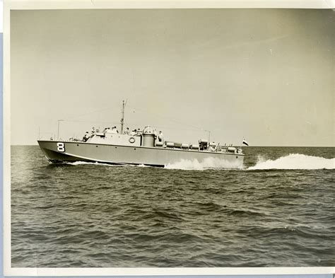 Pt Boat Louisiana by Higgins Industries Pt Boat Moving Through Water Probably