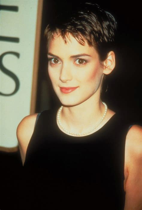 Winona Ryder Short Hair   Makeup, Cosmetics & Hair   Pinterest