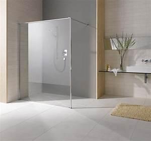 paroi de douche ouverte en verre leda s550 espace aubade With carrelage adhesif salle de bain avec leda paroi de douche