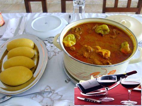la cuisine ivoirienne foutou banane avec sauce graine cote d 39 ivoire recettes