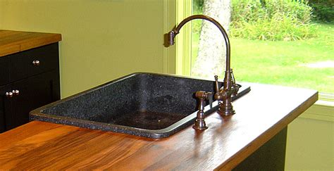overmount sink kitchen wood countertops with undermount or overmount sinks stoves 1342