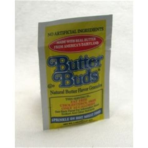 butter buds flavor granules packet travel size