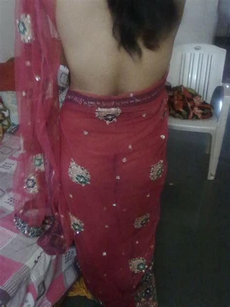 Indian Women Back Side Blouse Bra Saree Xxx Photo