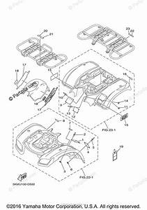 Yamaha Atv 2005 Oem Parts Diagram For Emblem