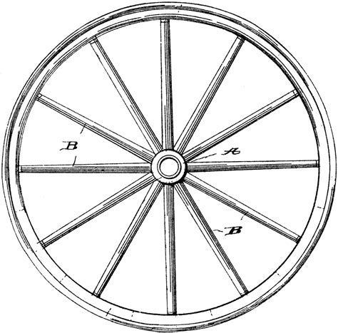 wagon wheel clipart   cliparts  images