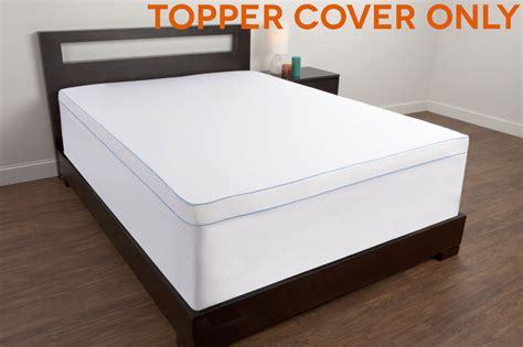 Topper Cover For Memory Foam Mattress Twin Full Queen King