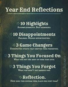 Take time befor... Year End Resolution Quotes