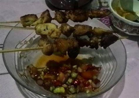 Lihat resep detailnya dan segera bikin di rumah. Resep Sate ayam bumbu bacem bango dengan sambal kecap oleh ...