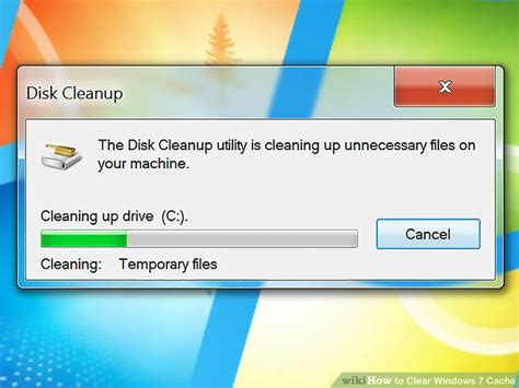 How To Clear Windows 7 Cache