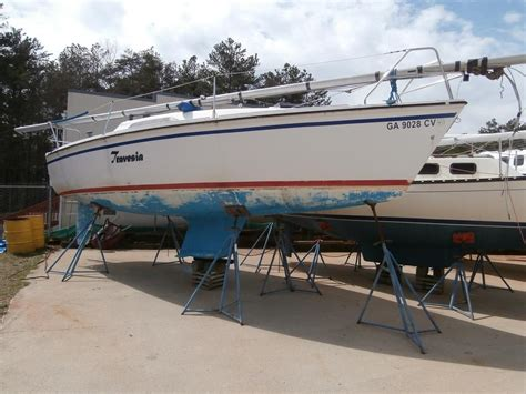 Boat Transport Lake Lanier by 1987 26 5 Sail Boat For Sale Www Yachtworld
