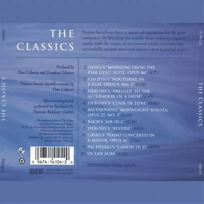 Classics Album Gibson Dan Solitudes Music Bekker