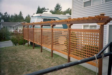 Outdoor Privacy Trellis by Privacy Trellis Lattcae Outdoor Waco How To Build