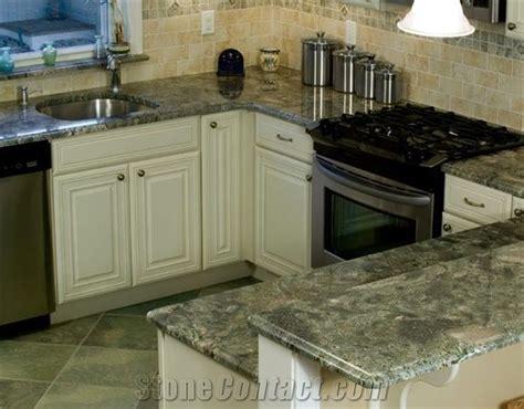 Green Granite Countertops - tropical green granite countertop from united kingdom