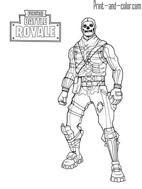 fortnite battle royale coloring page skull trooper skull coloring pages coloring pages
