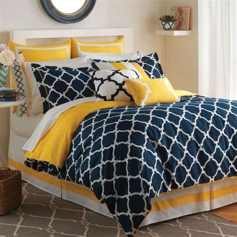 yellow comforter navy bedding orange bedspreads bedrooms collections