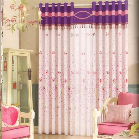 Cute Baby Girl Nursery Curtains Beaded Lace(no Valance