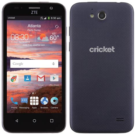 cricket phones on zte overture 2 lands at cricket wireless for 50 android