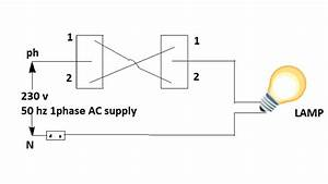 Stair Case Wiring Circuit Diagram