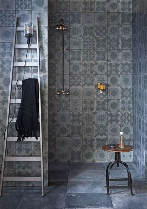 vintage tegels badkamer 20 beste idee 235 n over vintage badkamertegels op pinterest