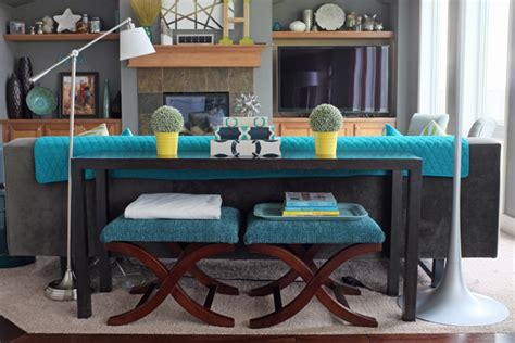 how to style a sofa table school of decorating by jackie hernandez