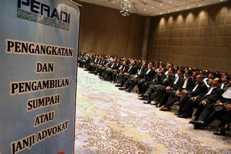 pustaka digital indonesia mengenal peran profesi advocat pengacara dan konsultan hukum dalam
