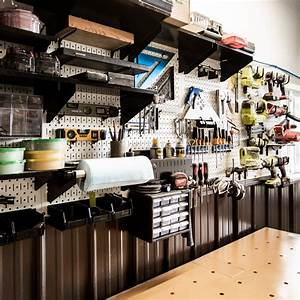 Our, Metal, Pegboard, System, U0026, How, To, Extend, An, Outlet, Through, It