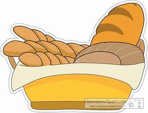 Food Clipart- assorted_breads_and_rolls_in_a_basket ...