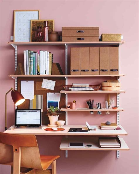 Office Desk Edging diy leather shelf edging for a chic home office home