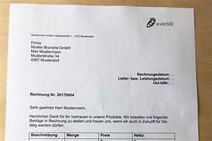Als Privatperson Rechnung Schreiben : rechnungsnummer richtig anlegen und f hren everbill magazin ~ Themetempest.com Abrechnung