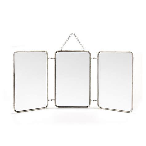 chaises de bureau alinea miroir triptyque 3x 20x32cm barbier miroirs miroirs