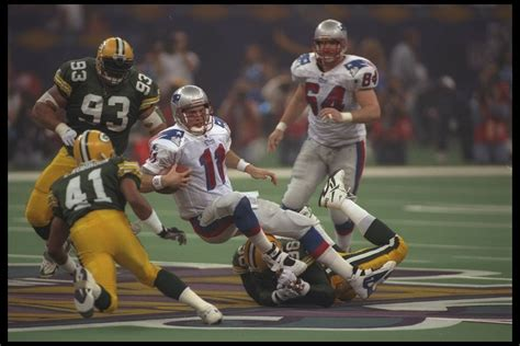 Patriots Super Bowl History Super Bowl Xxxi Vs The Green
