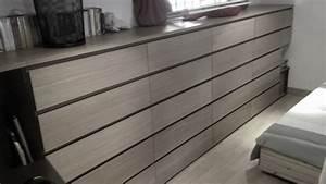 Commode Salle De Bain Ikea : transformation de commodes malm 4 tiroirs en 5 tiroirs ~ Teatrodelosmanantiales.com Idées de Décoration