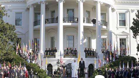 Obama Empfing Papst Franziskus Im Weißen Haus  Erster Usbesuch  Welt Kroneat