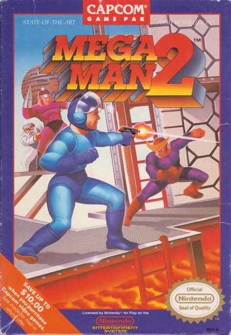 Rockman Corner Meet The Man Who Drew Mega Man 2s Box Art