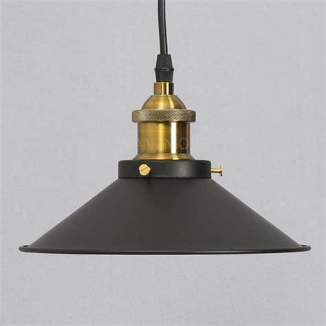 industrial vintage diy metal ceiling ls shade pendant
